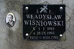 Tomb of Wiśniowski family at Central Cemetery in Sanok 2 Władysław.jpg