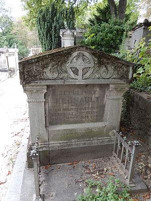 Jules Regnault - Image: Tombe de Jules Augustin Regnault (division 25)