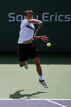Tommy Robredo - Robredo at the 2008 Indian Wells Masters