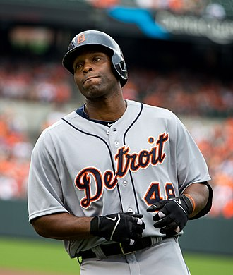 Torii Hunter - Hunter with the Detroit Tigers in 2013