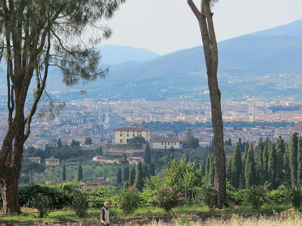 Firenze, Forte Belvedere, visto da Torre del gallo