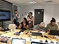 Tour de table durant l'atelier des sans pagES Marseille juillet 2018.jpg