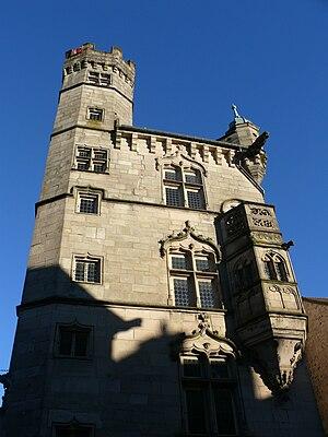Luxeuil-les-Bains - Image: Tour des échevins Luxeuil 1