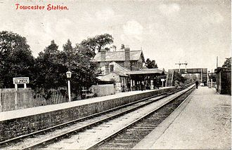 Stratford-upon-Avon and Midland Junction Railway - Towcester Railway Station, before 1912