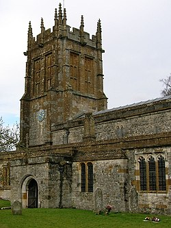 Tower of St. Mary's, Charminster.jpg