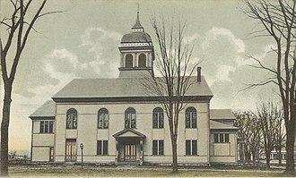 Walpole, New Hampshire - Image: Town House, Walpole, NH
