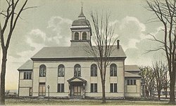 walpole town Town Hall in 1906