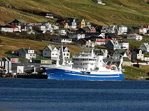 Energy in the Faroe Islands - Fishing vessels are the main consumer of oil in the Faroe Islands.