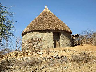 Bilen people - Traditional Bilen homestead