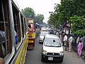 Traffic Jam - Beleghata - Kolkata 2005-08-08 8080039.JPG