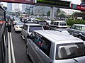 Traffic jam in Sudirman Street, Jakarta, Indonesia.jpg