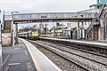 Train passing through Balbriggan station.jpg