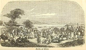 Sokoto - Market at Sokoto, early 1850s