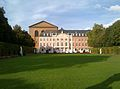 Trier Kurfuerstliches Palais and Basilika in October 2014.jpg