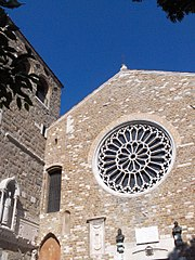 San Giusto Cathedral in Trieste.