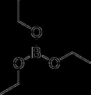 Triethyl borate - Image: Triethyl borate