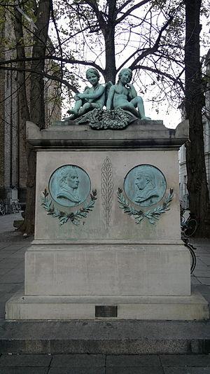 Otto Evens - Image: Trinitatis Kirke Wessel and Ewald