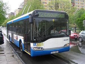 Trolleybuses in Gdynia - A Solaris Trollino 12T in Gdynia