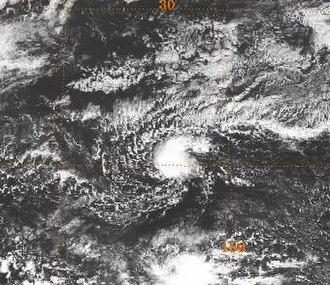 1989 Pacific typhoon season - Image: Tropical Storm Winona 1989