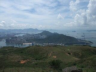 Tsing Yi island in Hong Kong