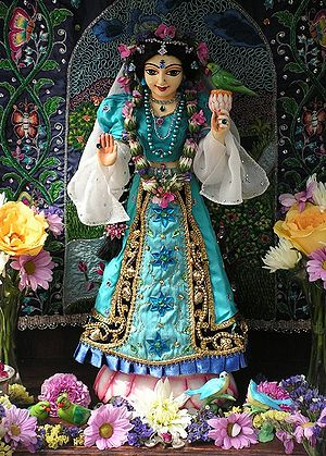 Tulsi in Hinduism - Image: Tulsidevi 01