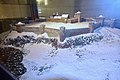Tunsberghus Fortress (festning) on Slottsfjellet (Mikkelsberget) in Tønsberg ca. 1000 – 1503. Model by Andreas Hauge, The Armed Forces Museum of Norway (Forsvarsmuseet) at Akershus Fortress, Oslo, Norway. Photo 2019-03-31 G.jpg