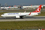 Turkish Airlines, TC-JGR, Boeing 737-8F2 (44574952684).jpg