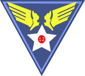 Twelfth Air Force - Emblem (World War II)