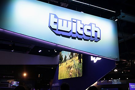 Twitch booth at the 2018 PAX West.