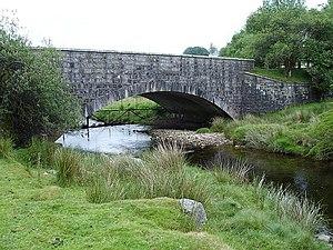 Two Bridges, Devon - The new bridge