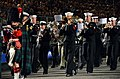 U.S. Navy musicians with the U.S. Naval Forces Europe Band, along with Scottish and Australian military musicians, march out during the finale of the Royal Edinburgh Military Tattoo 120803-N-VT117-318.jpg