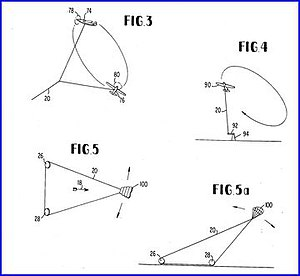 Crosswind kite power - US3987987figs