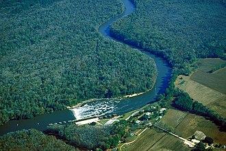 Cape Fear River - Image: USACE Lock and Dam 1 Cape Fear River