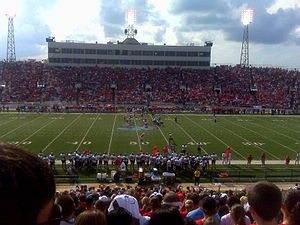University of South Alabama - South Alabama Football at Ladd-Peebles Stadium