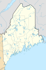 Topsham AFS is located in Maine