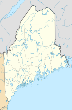 Winslow is located in Maine (EUA)