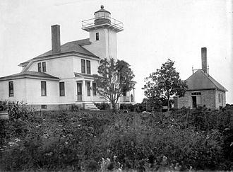 Raspberry Island Light - Image: USC Graspberryisland