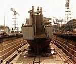 USNS Mercury in drydock, Yokosuka Japan.jpg