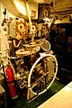 USS Bowfin - Steering Controls (6160898798).jpg