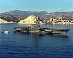 USS Coral Sea (CV-43) at Benidorm in 1988.JPEG