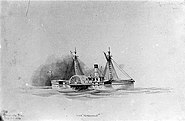 USS Metacomet (1864) by Xanthus Russell Smith (cropped)
