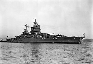 USS New Mexico, 1943