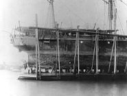USS Nipsic wreck 1889