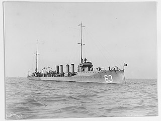 <i>Sampson</i>-class destroyer Destroyer class of the US Navy