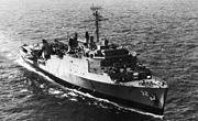 USS Spiegel Grove (LSD-32) underway c1965