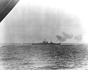 USS Wichita (CA-45) under fire off Casablanca on 8 November 1942