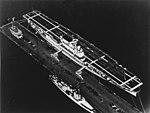 USS Yorktown (CV-5) being commissioned in 1937.jpg