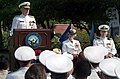US Navy 040902-N-2383B-066 Chief of Naval Operations (CNO), Adm. Vern Clark, delivers remarks at the retirement ceremony of Vice Adm. Patricia Tracey.jpg