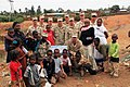 US Navy 110822-F-GA004-228 Women and children from Negele and Borena, Ethiopia, and Seabees from Naval Mobile Construction Battalion (NMCB) 5.jpg
