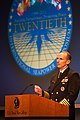 US Navy 111019-N-IF177-300 Chief of Naval Operations (CNO) Adm. Jonathan Greenert, addresses delegates at the 20th International Seapower Symposium.jpg